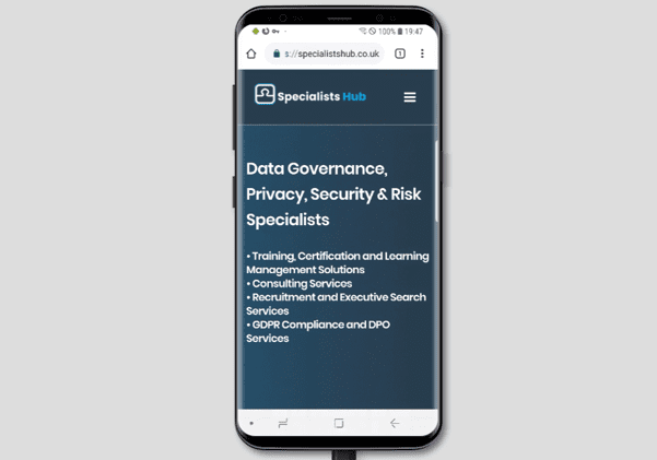 web design responsive mobile
