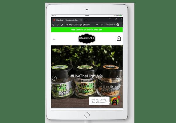 responsive tablet design