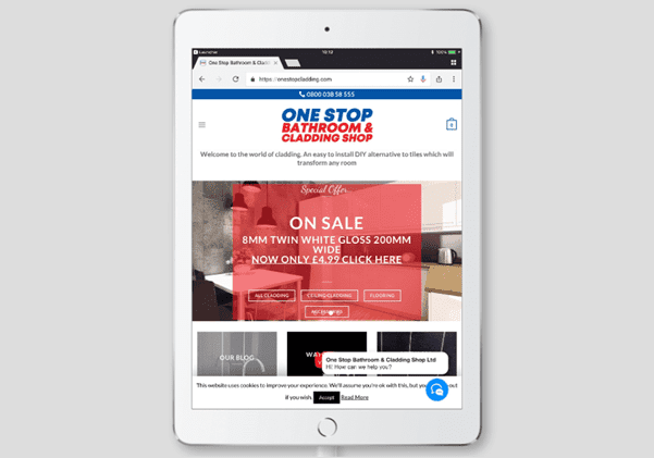 onestopcladding on;line shop design