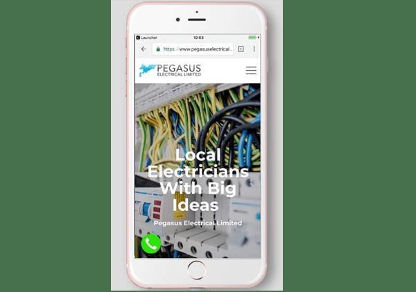 pegasus electrical mobile view