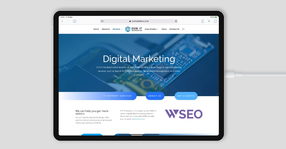 CSS IT Solutions partnered with WSEO